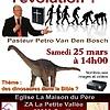 """Séminaire """"Dinosaures dans la Bible ?!"""""""