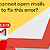 Gmail cannot open mails: How to fix this error?