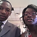 Pastor Yves and his wife Benedicte