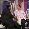 Tv channel shot