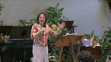Pastor Janet Kreis Place of Refreshing Sunday Worship
