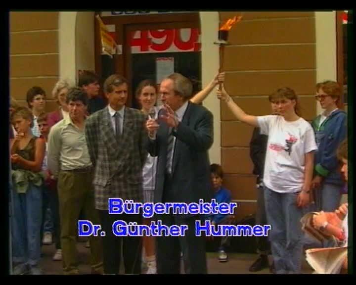 1987 Fackellauf für Jesus