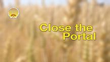 Close the Portal Service Preview