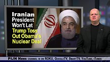 Iran's President Won't Let Trump Toss Obama's Nuclear Deal