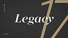Legacy - Week 1