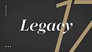 Legacy - Week 2