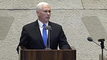 VP Mike Pence Gives Historic Speech In Israel